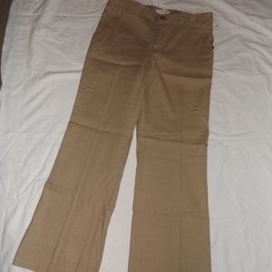 Banana Republic Martin Fit Tan Pants 10L